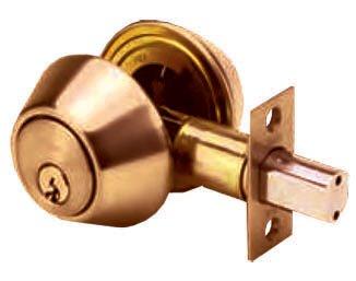 กุญแจเสริมความปลอดภัย ระบบดอกกุญแจสองด้าน