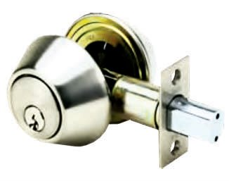 Double Cylinder with Deadbolt