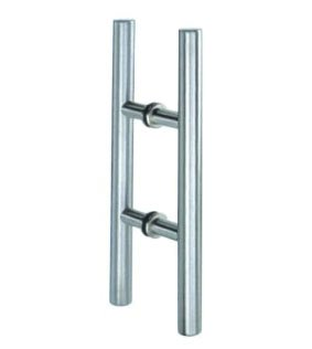 Back to back T pull handle set
