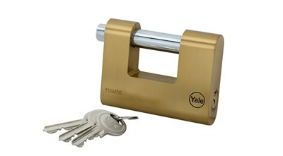 80mm Brass Shackle Padlock