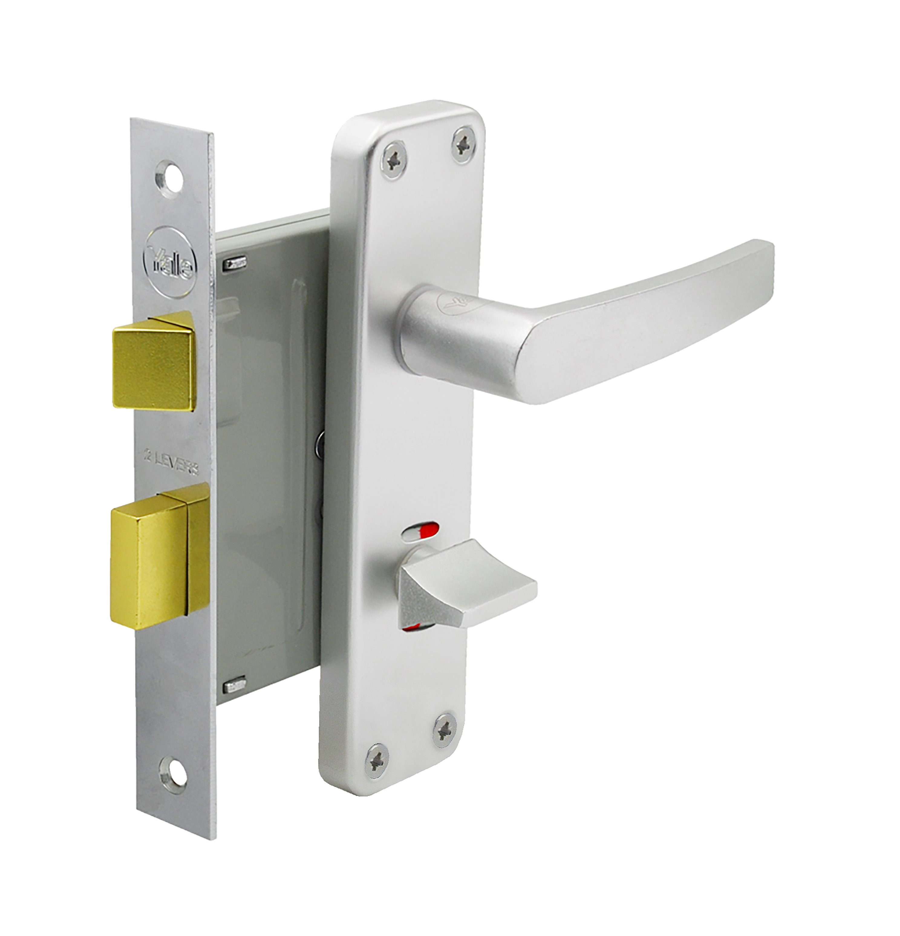 Bathroom lockset
