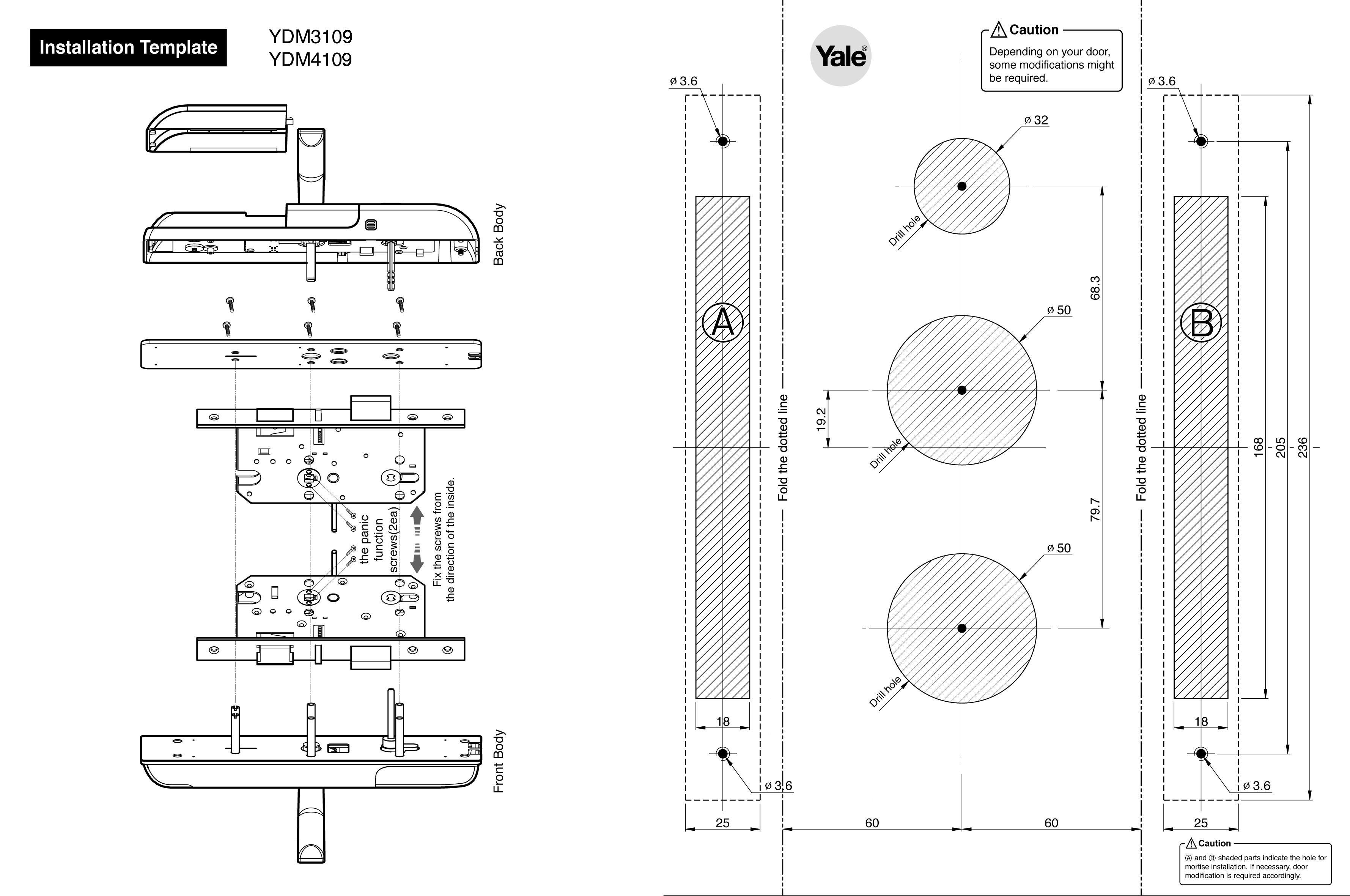 Ydm4109 Yale Asia Fridge Door Alarm Circuit Tiny Guard With Ydm3109 Installation Guide En 641 Kb