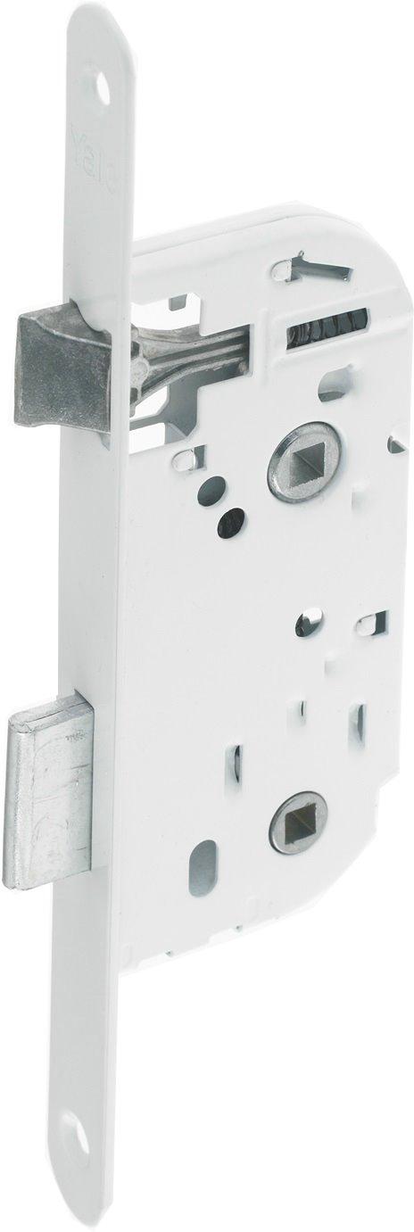 Serrure à encastrer axe à 40 mm à condamnation pour toilette/salle de bain