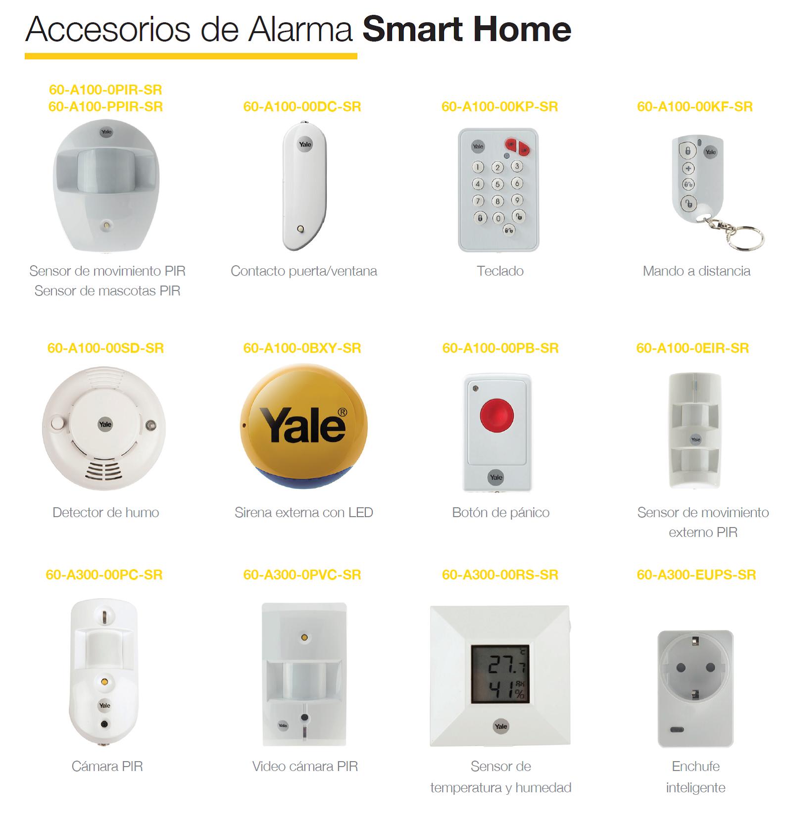 Accessoires d'alarme Smart Home