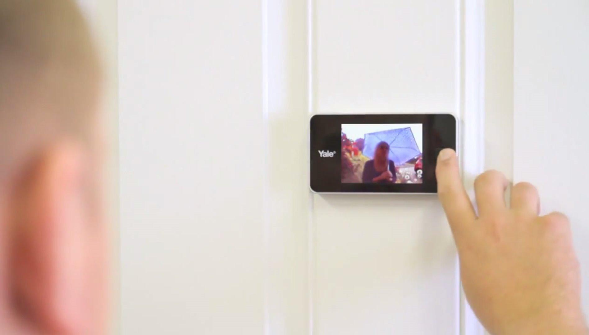 Elektronisk dørkikkert