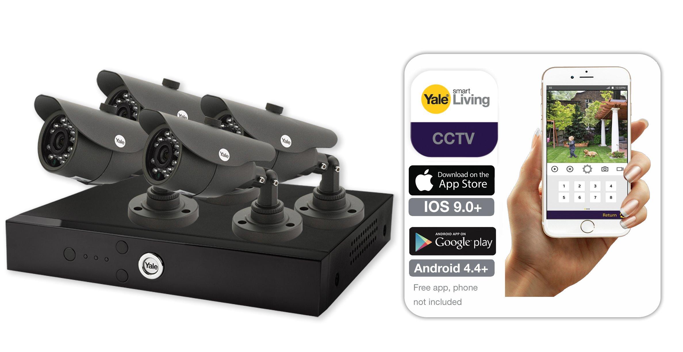 Smart HD 1080P 4Cam 1TB CCTV System