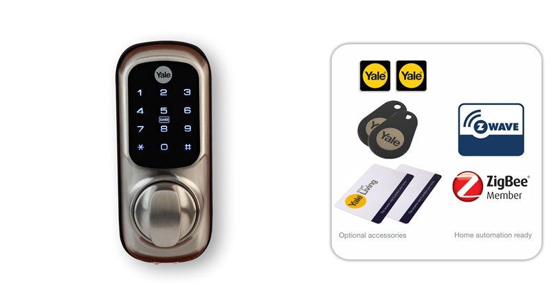 Keyless Connected Smart Lock - Smart Door Locks - Yale Security