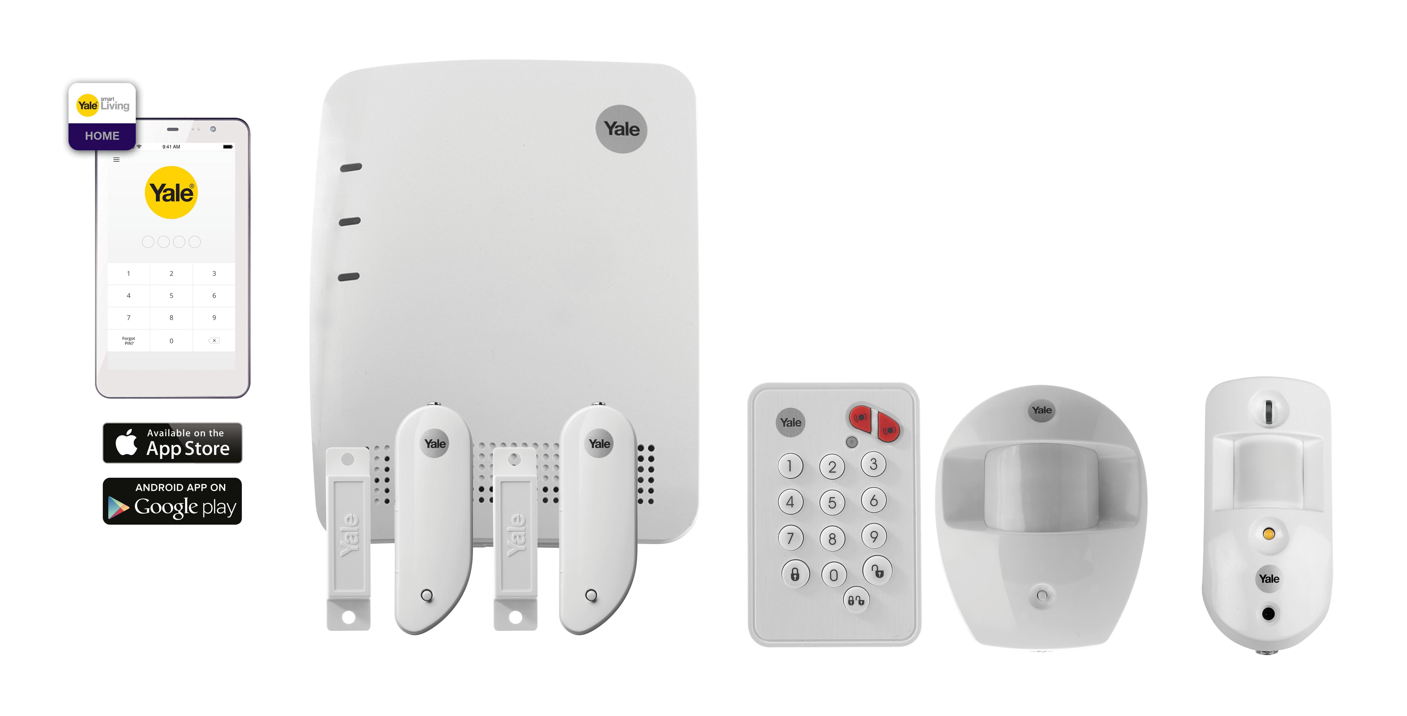 Smart Home Alarm - SR-3800i