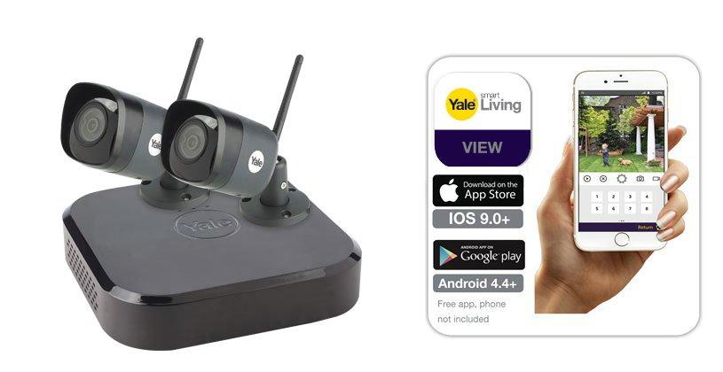 Smart 4K WiFi CCTV kit - Smart CCTV range - Yale Security