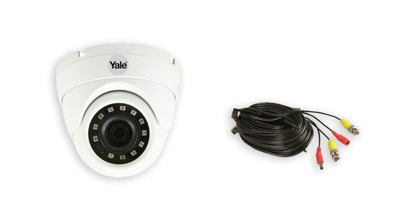 Smart 1080P CCTV wired dome camera