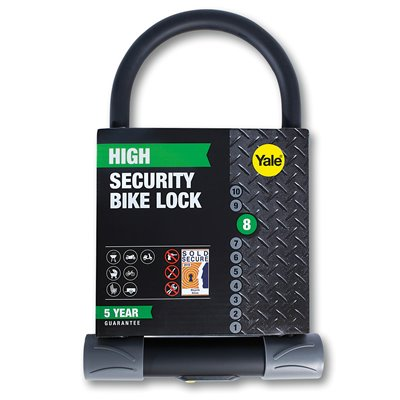 U-Shaped Bike Lock