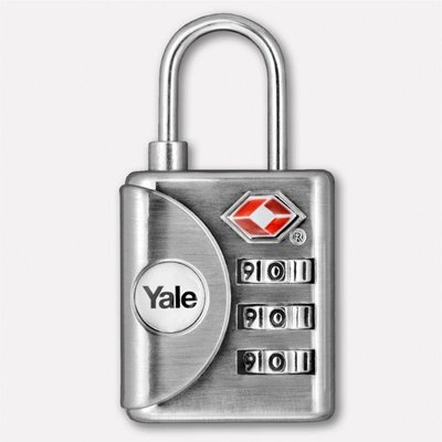 Yale Kontrol Göstergeli Şifreli Asma Kilit (TSA Onaylı)