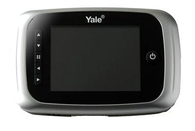 LCD Ekranlı Dijital Kapı Dürbünü - 5000 Serisi - Premium (Kayıt Özellikli)