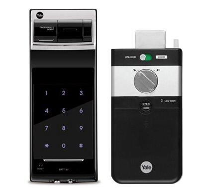 YDR3110 Parmak İzli ve Şifreli Dijital Dıştan Takma Kilit