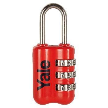 Yale Dar Tip Mini Şifreli Asma Kilit