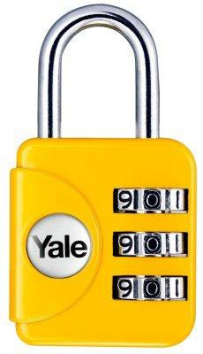 Yale Geniş Tip Mini Şifreli Asma Kilit