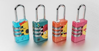 Emoji Combination Locks