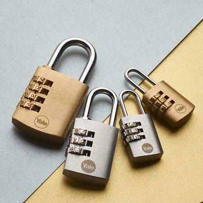Brass Combination & Chrome Plated Padlocks