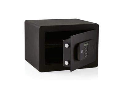 YSFB/250/EB1 - Sejf domowy o wysokim poziomie bezpieczeństwa z czytnikiem linii papilarnych