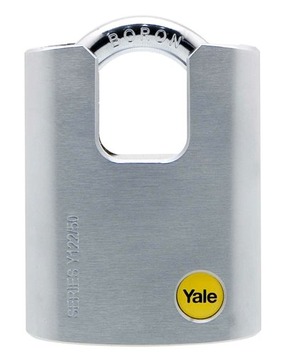 Y122 - Brass Padlock Closed Shackle