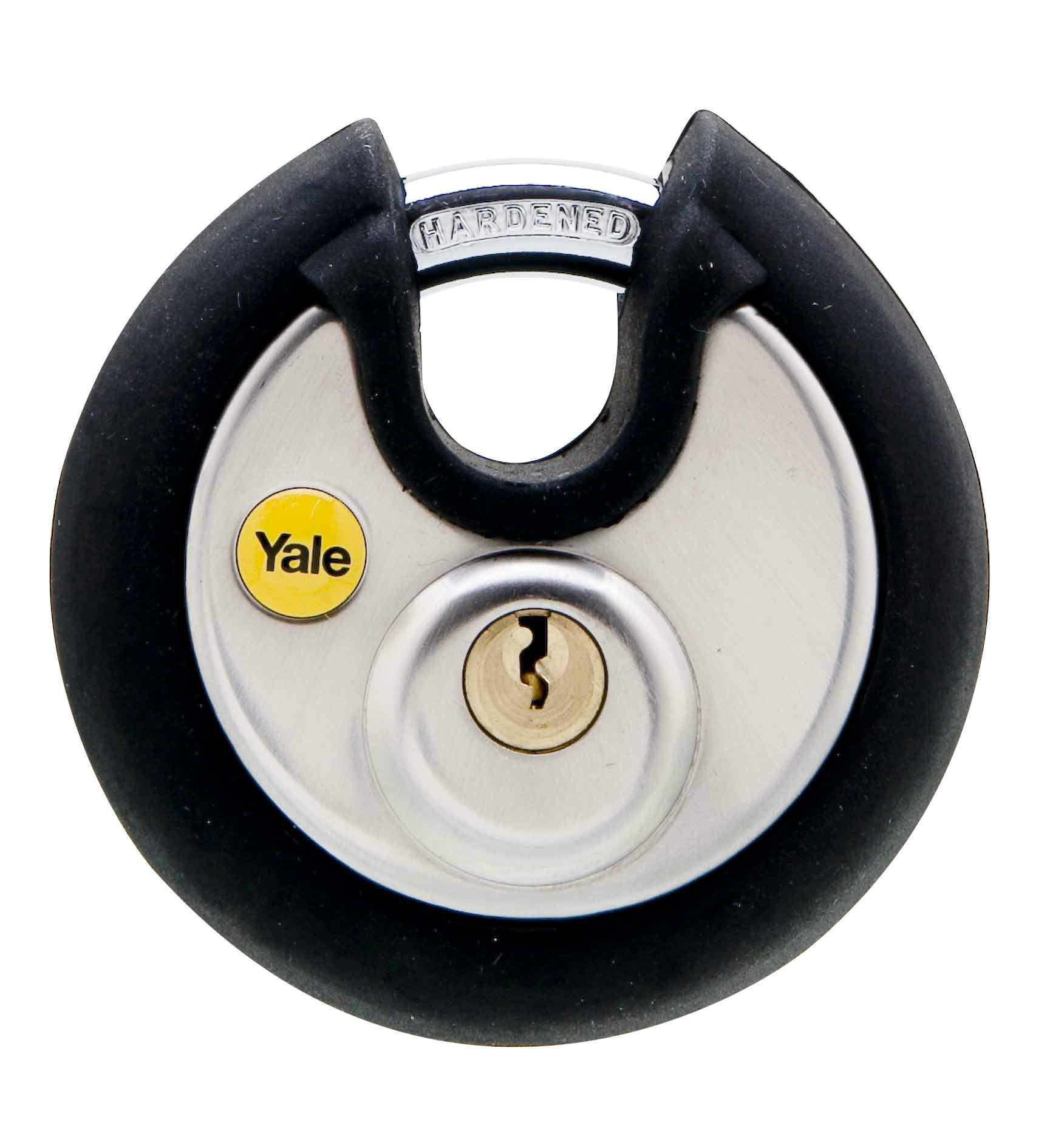 Hänglås i rostfritt stål disk - Y130