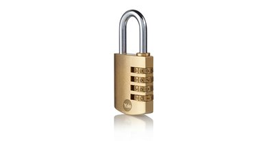 40mm Brass combination padlock