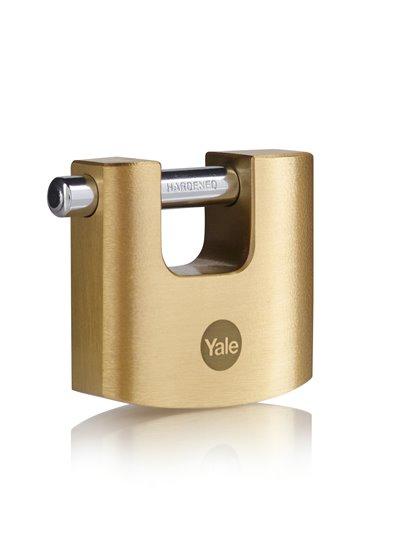 Y114B Brass Shutter Padlock