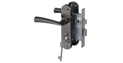 Dritta Lockset 3 Lever - Satin Black Nickel