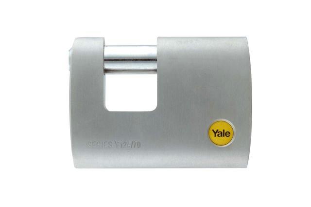 Y124 - Cierre metálico de latón cromado