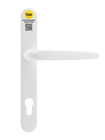 Quartus antimicrobial combi door handle