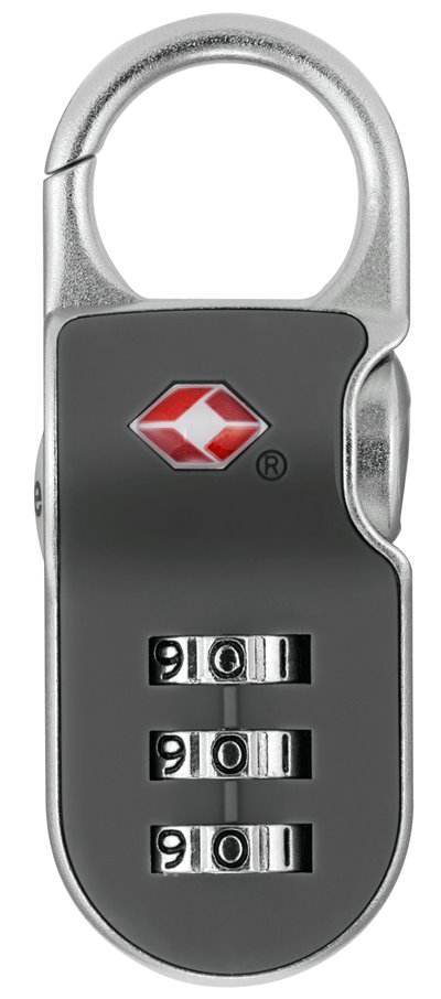 YTP2/26/216/1- TSA Clip on Combi Padlock