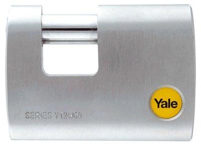 Cadenas rectangulaire chromé Y124