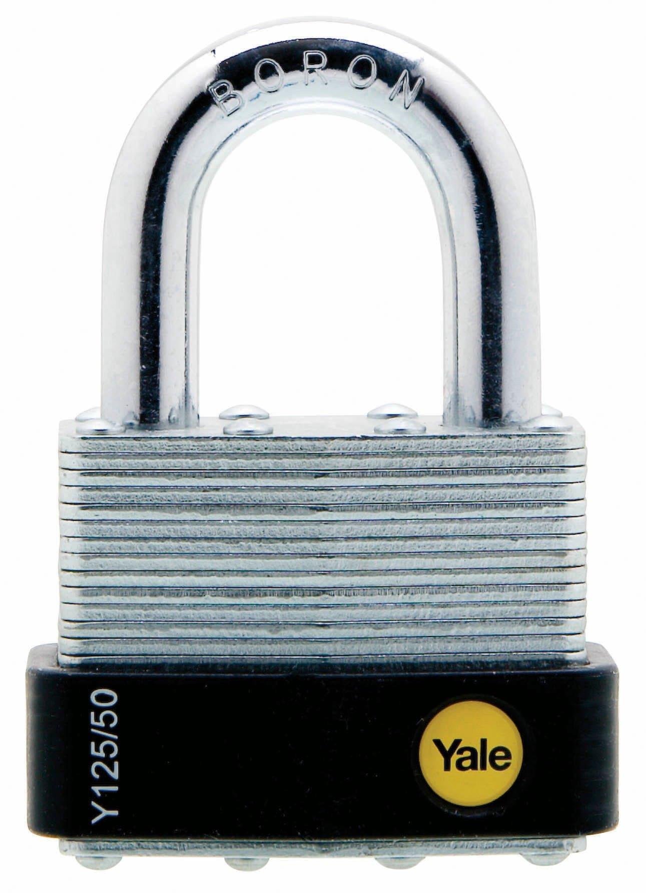 Y125 Laminated Steel Ball Locking Padlock