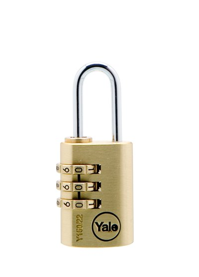 Y150 - Brass Combination Padlock