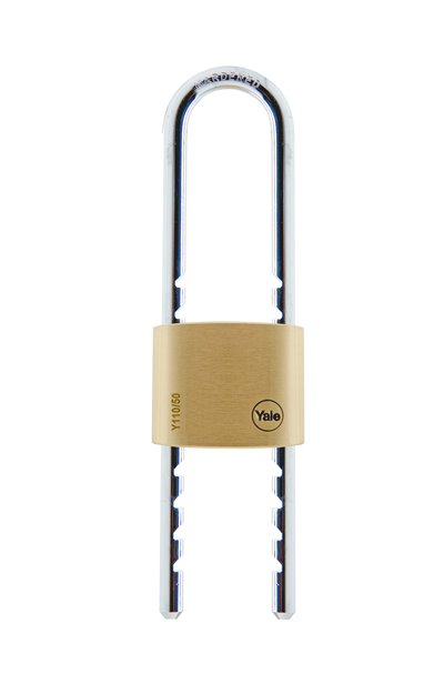 Y110 - Brass Padlock with adjustable shackle