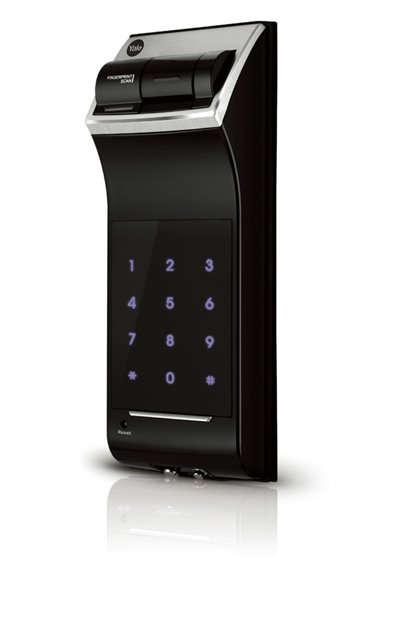 YDR4110 Premium Fingerprint Rim Mounted