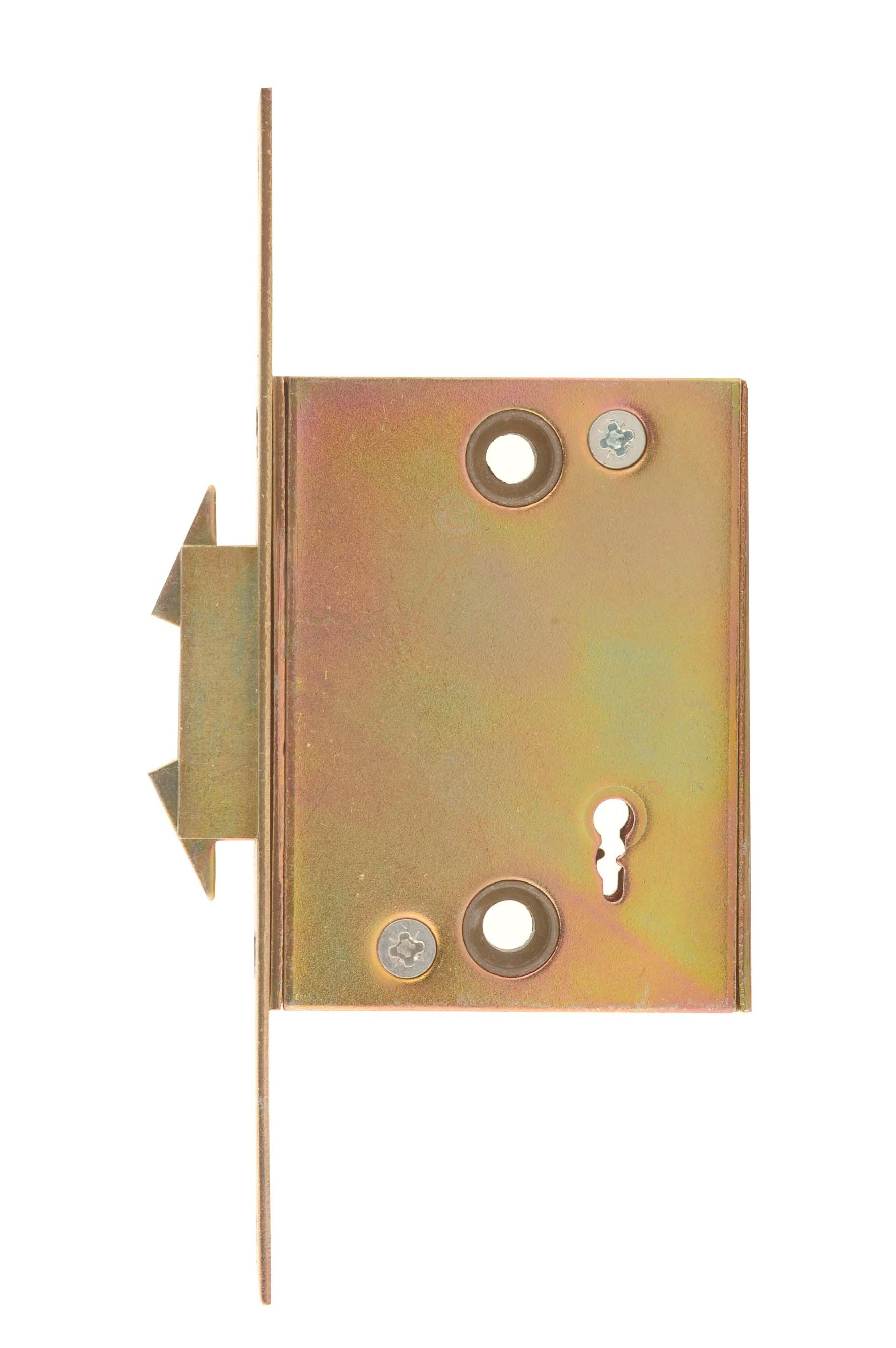 5 Lever Security Gate Lock with Wing Bolt and Faceplate