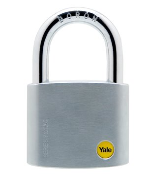 60mm Brass Satin Chrome Padlock