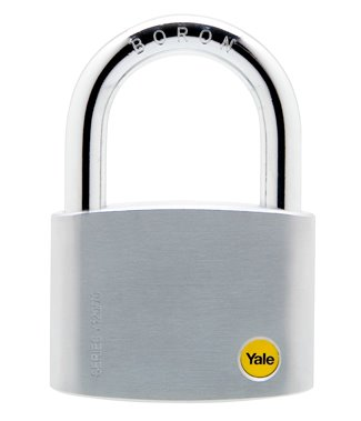 70mm Brass Satin Chrome Padlock
