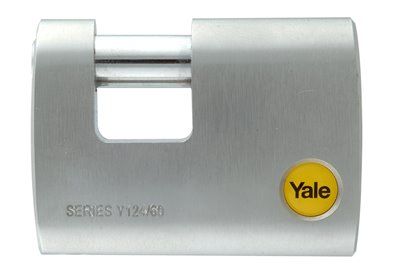 Y124 - Brass Shutter Padlock
