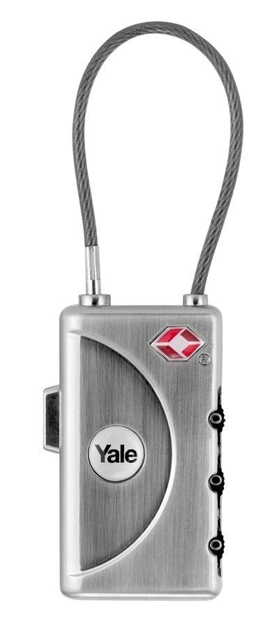 YTI1/30/350/1 - Flexibel TSA bagageslot / cijferslot met naamplaat