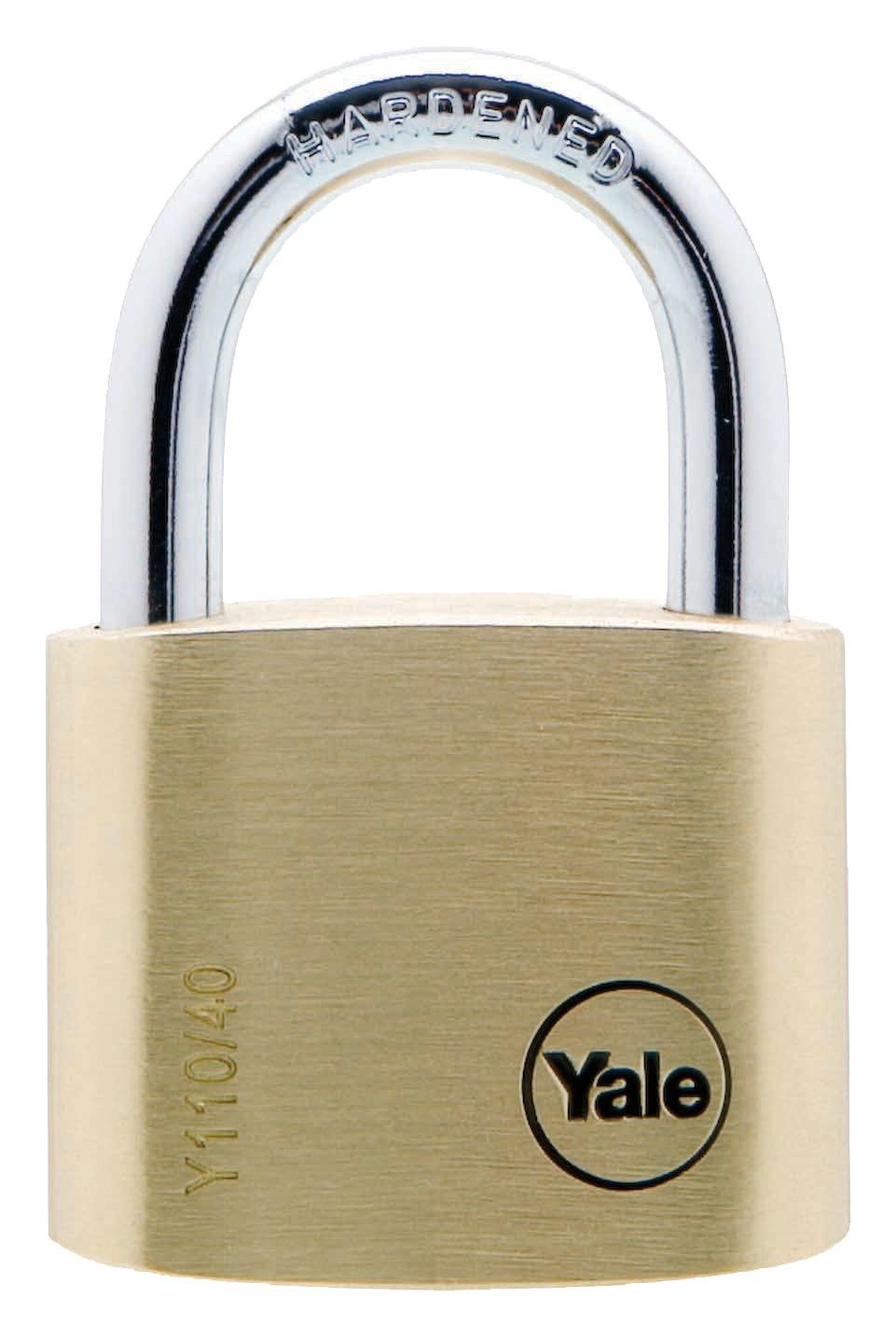 40mm Brass Padlock Standard Security Padlocks Yale