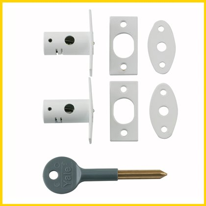 yale door security bolt fitting instructions
