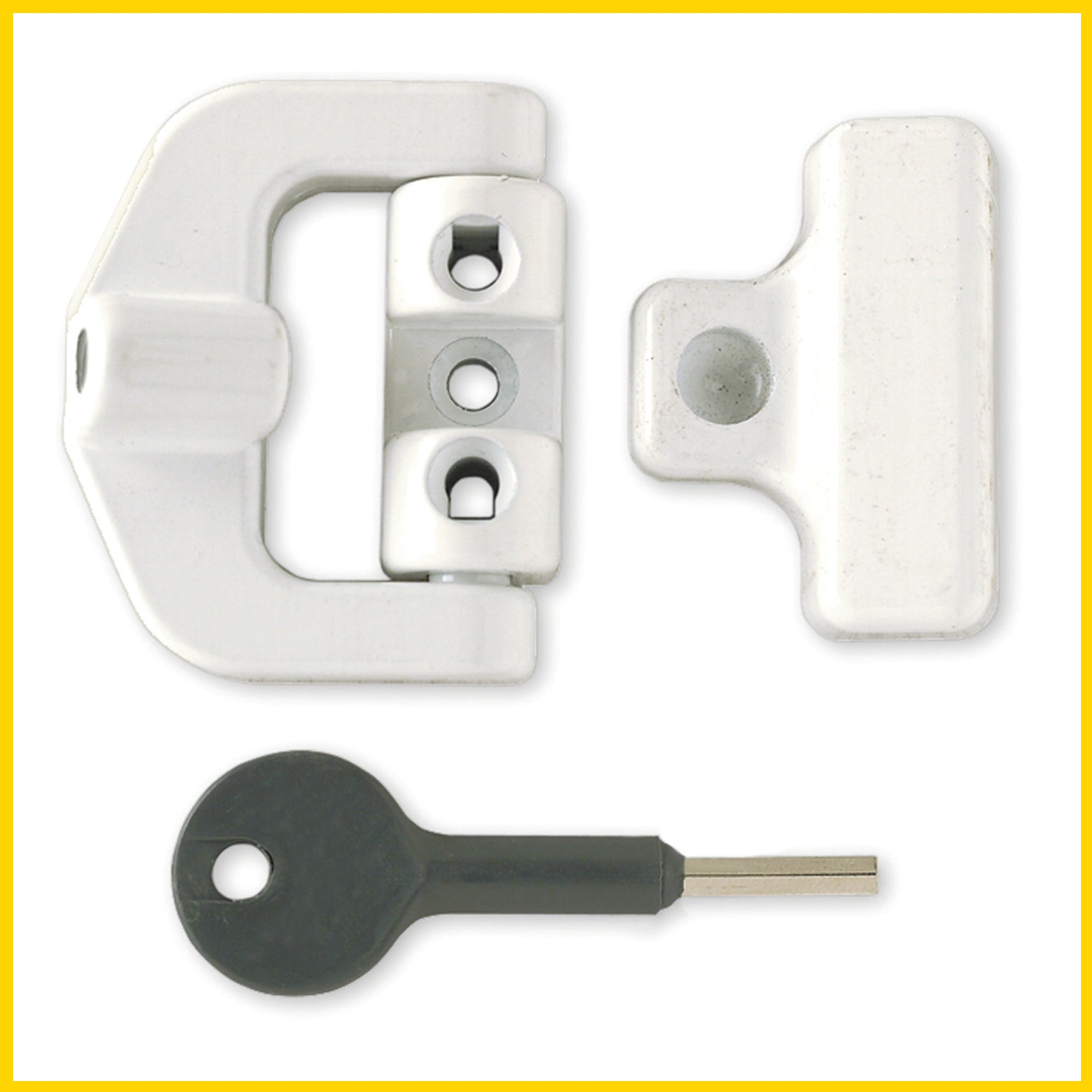 8k123 Pvcu Window Lock Window Security Smart Locks