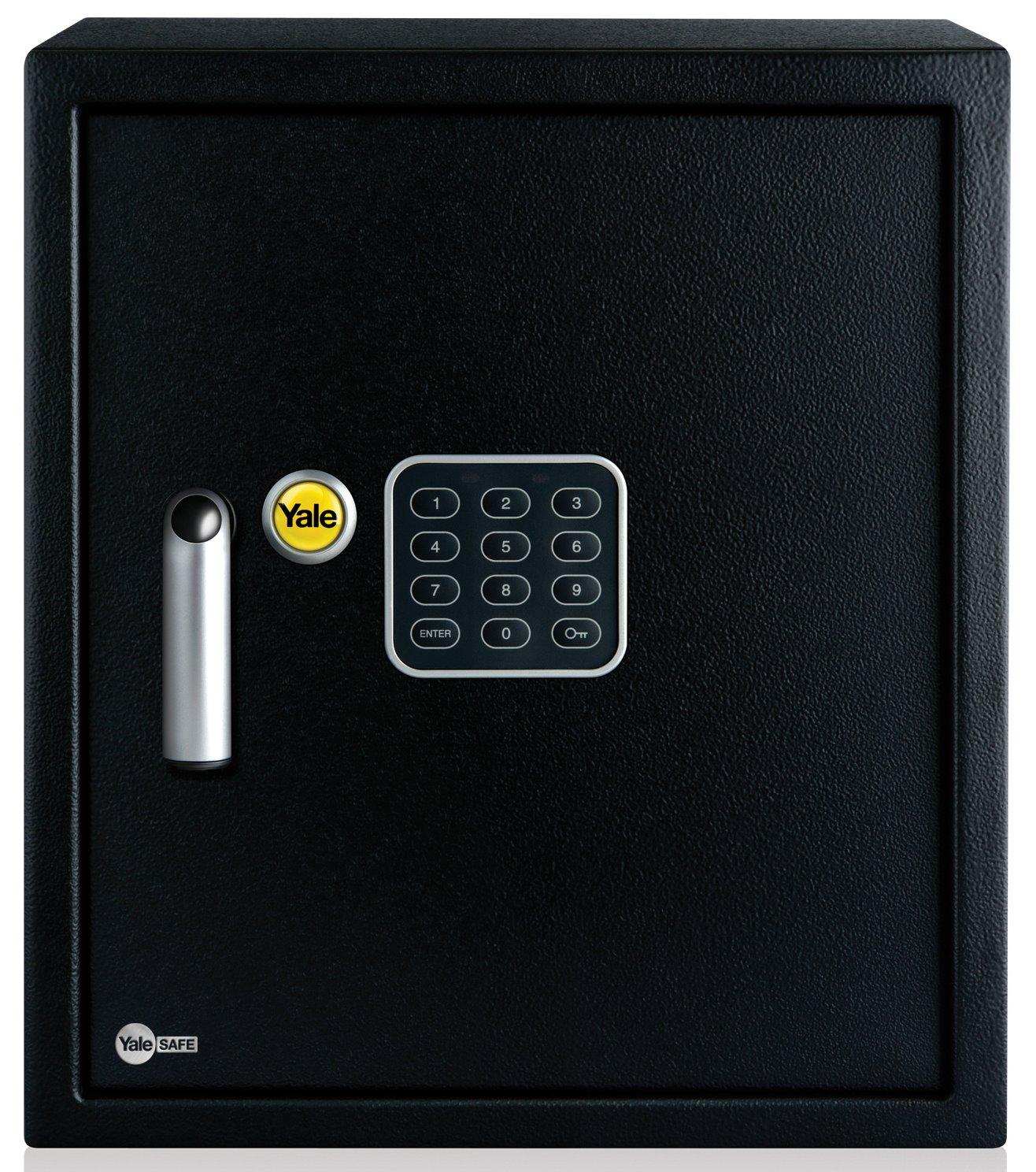 ysv 390 db1 yale home electronic safe box large. Black Bedroom Furniture Sets. Home Design Ideas