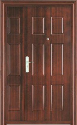One Amp Half Leaf Security Door