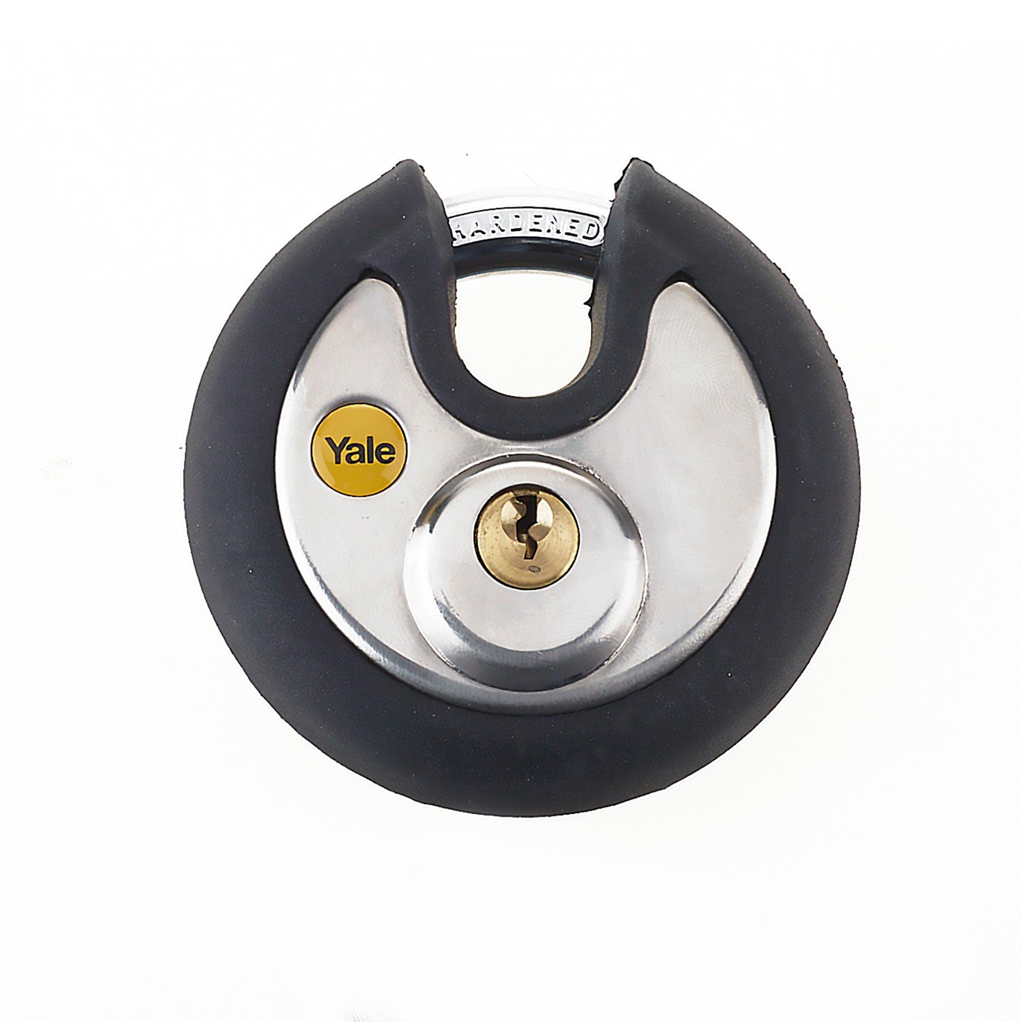 Y130p High Security Anti Cut 70mm Disc Padlock High