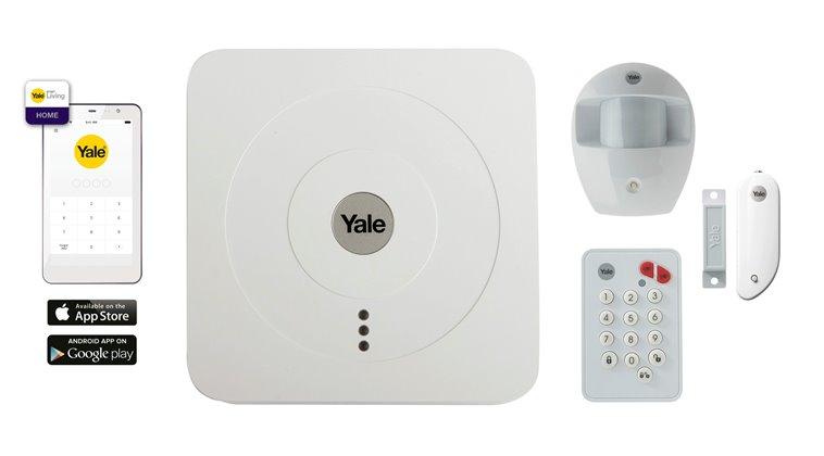 alarme connect e lite syst mes d 39 alarme yale cadenas serrures verrous cylindres. Black Bedroom Furniture Sets. Home Design Ideas